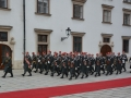 Garde - 3.GdKp - Gardemusik - Empfang Präsident Kolumbien_DSC_0515