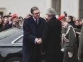 Garde_3.GdKp_Gardemusik_Empfang Präsident Serbien-EW7R469411