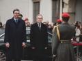 Garde_3.GdKp_Gardemusik_Empfang Präsident Serbien-EW7R474213