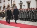 Garde_3.GdKp_Gardemusik_Empfang Präsident Serbien-EW7R478915