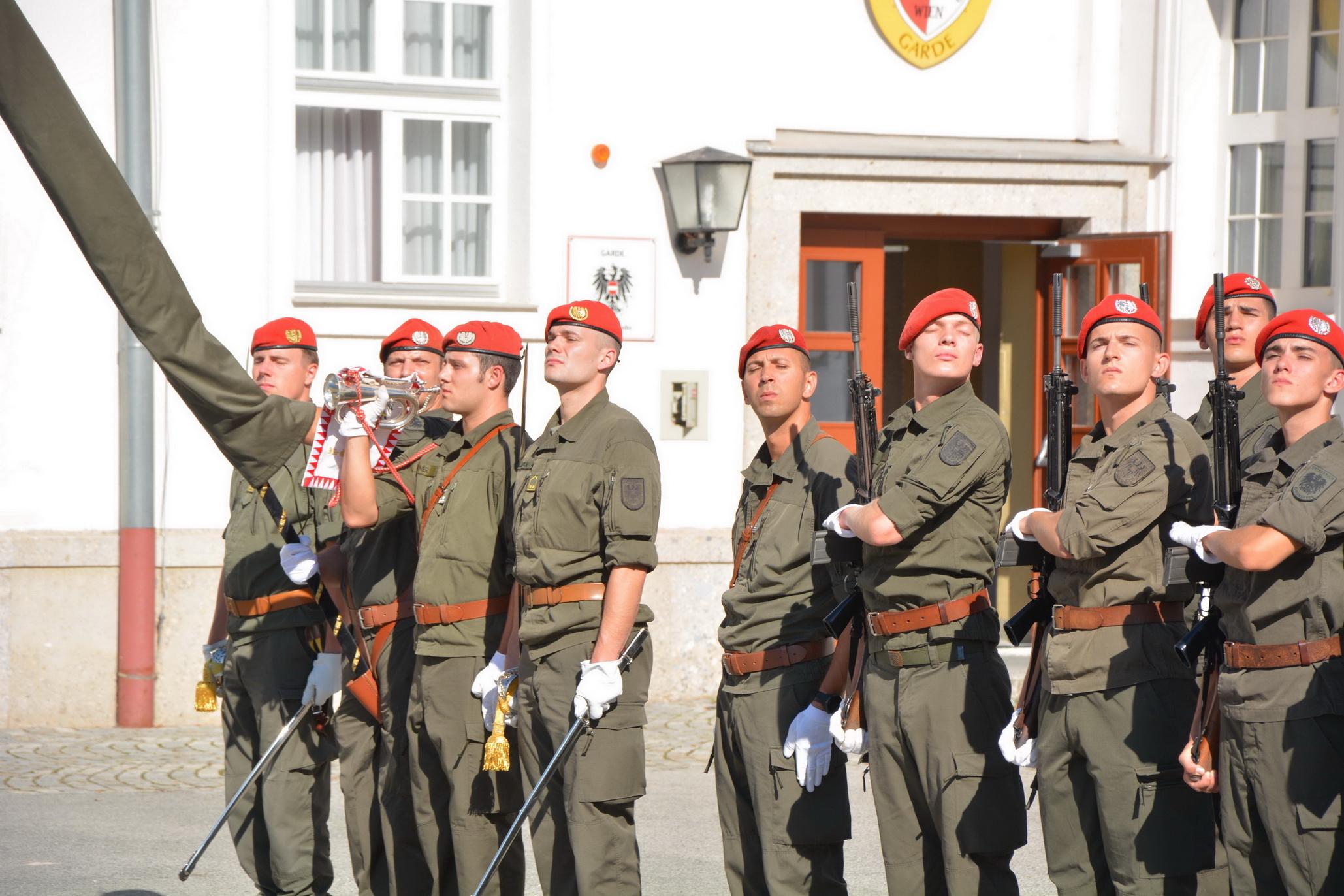 Garde_2018_09_12_Vorparade Traditionstag MilKdo Wien mit Polen (10)