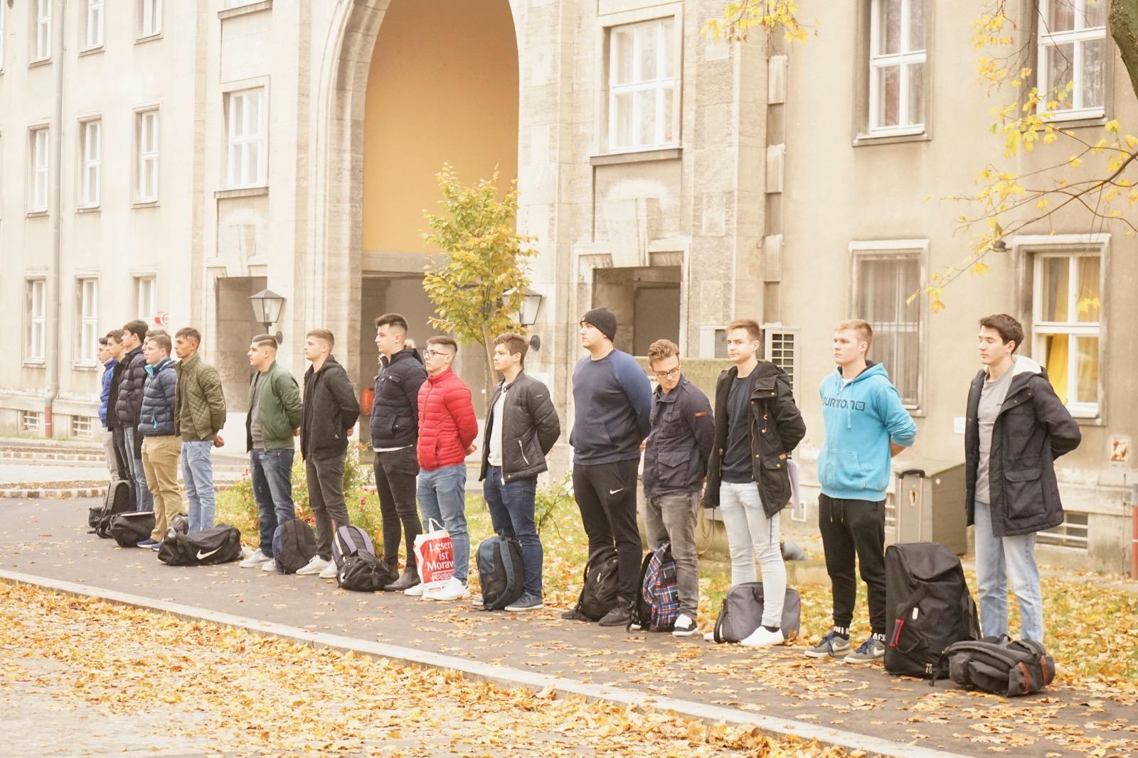 2018_11_05_1Gardekompanie_Einrücken - 2 of 8
