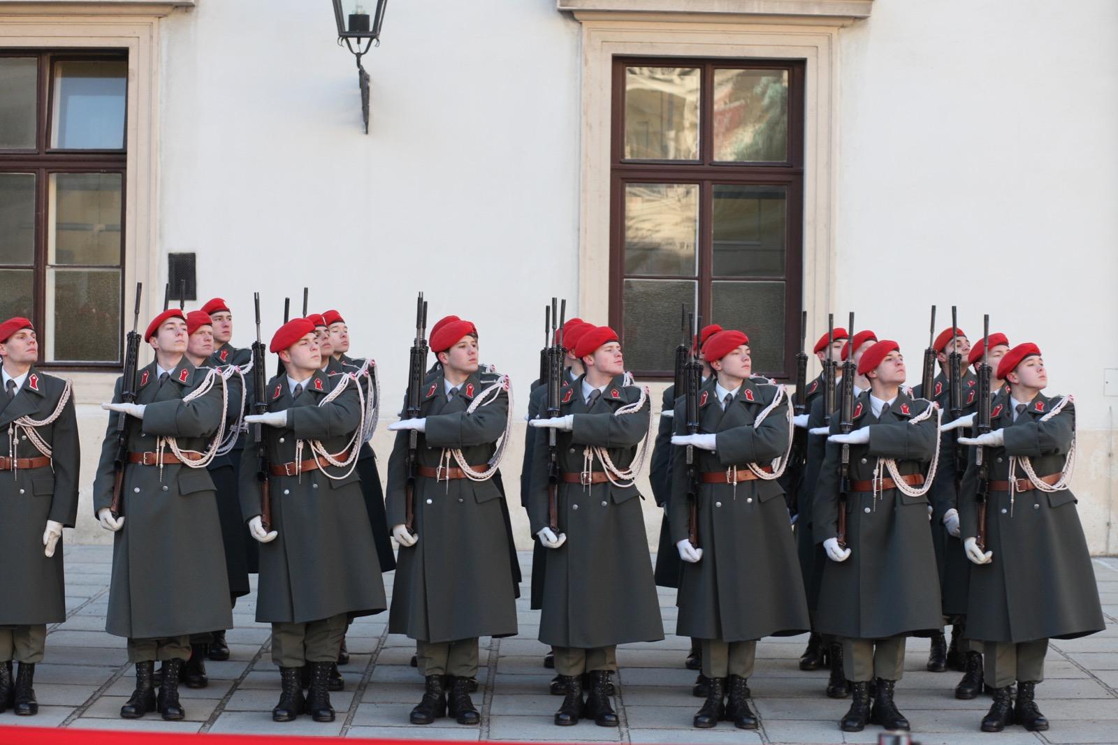 2019_01_11_1Gardekompanie_HBP_SUI_Präsident_Schweiz_Burghof - 30 of 36