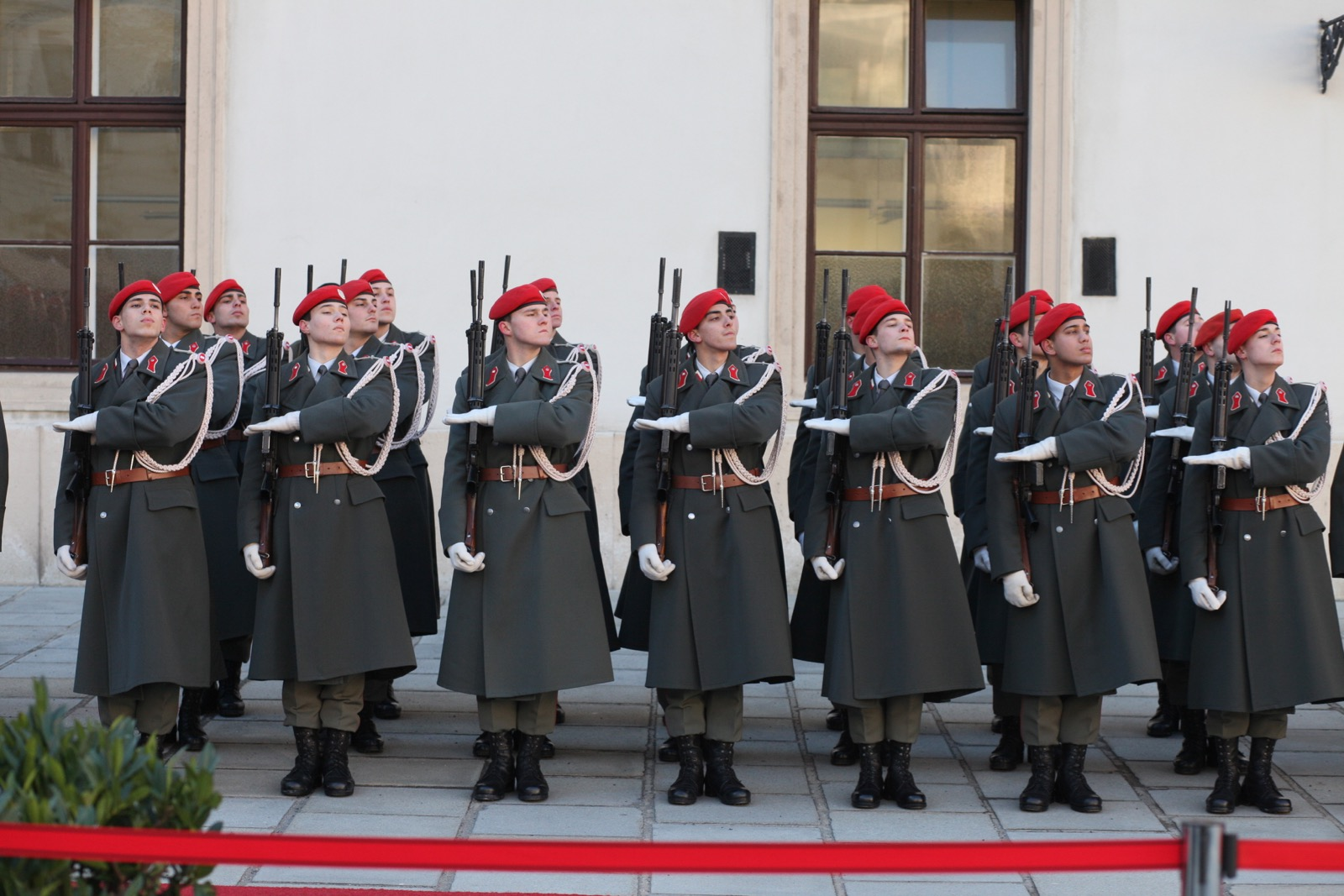 2019_01_11_1Gardekompanie_HBP_SUI_Präsident_Schweiz_Burghof - 31 of 36