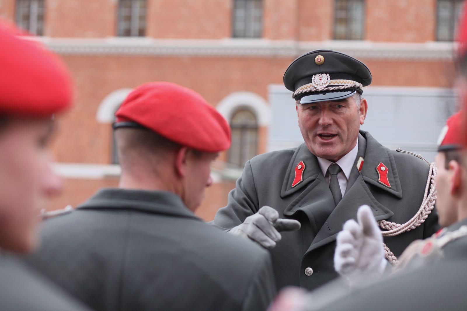 2019_01_18_1Gardekompanie_Treffen_Verteidigungsminister_DE_CHE_AUT_Rosau - 1 of 39