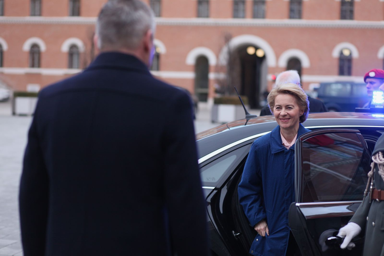 2019_01_18_1Gardekompanie_Treffen_Verteidigungsminister_DE_CHE_AUT_Rosau - 12 of 39
