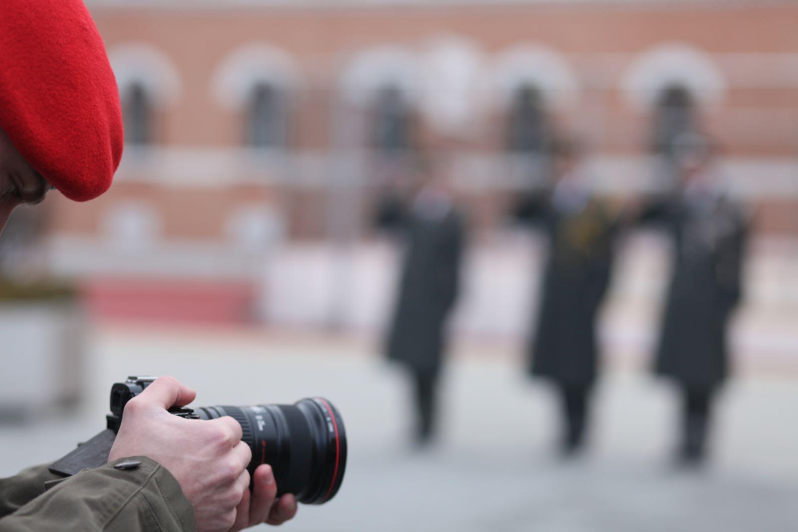2019_01_18_1Gardekompanie_Treffen_Verteidigungsminister_DE_CHE_AUT_Rosau - 19 of 39