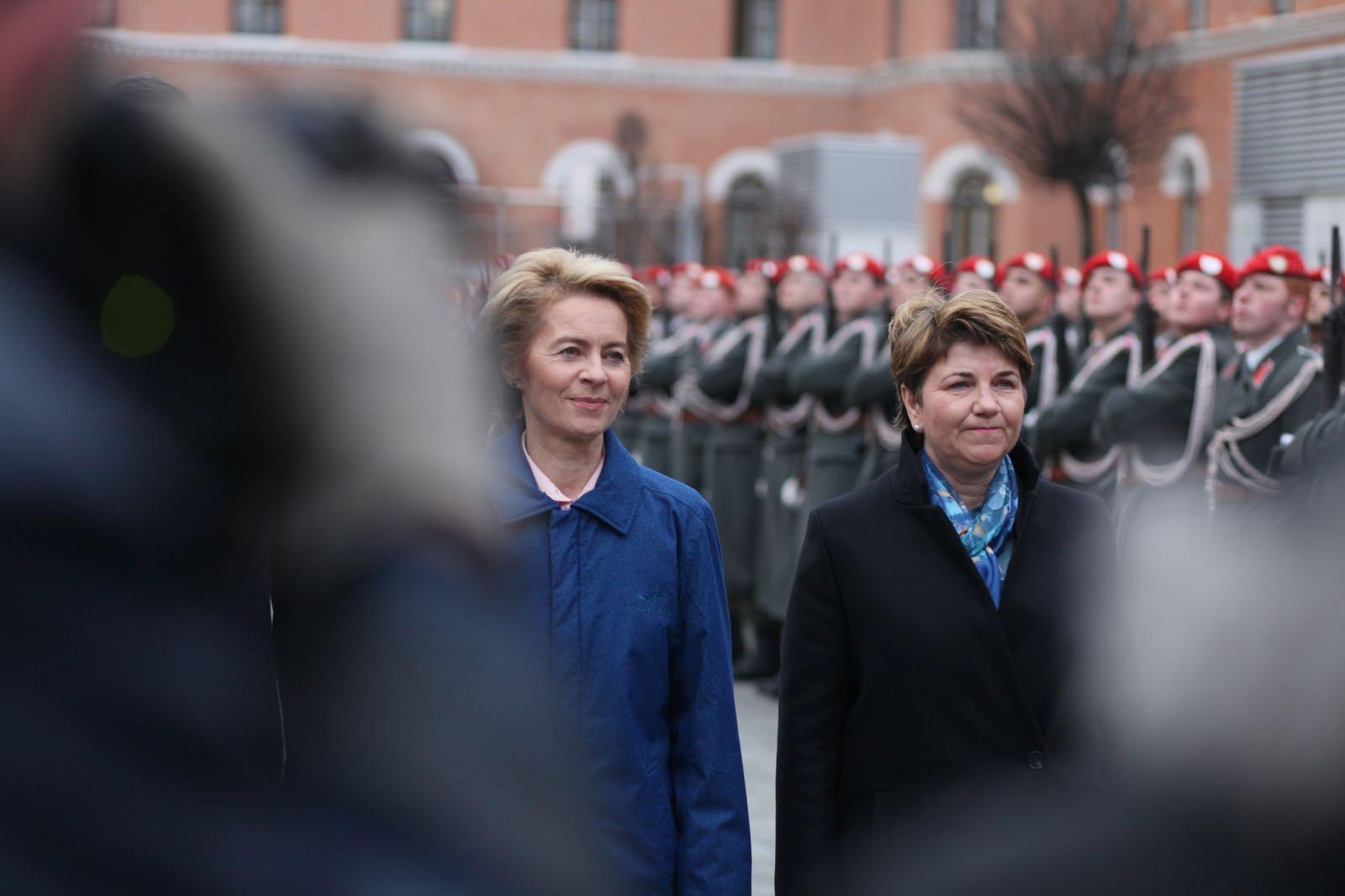 2019_01_18_1Gardekompanie_Treffen_Verteidigungsminister_DE_CHE_AUT_Rosau - 23 of 39