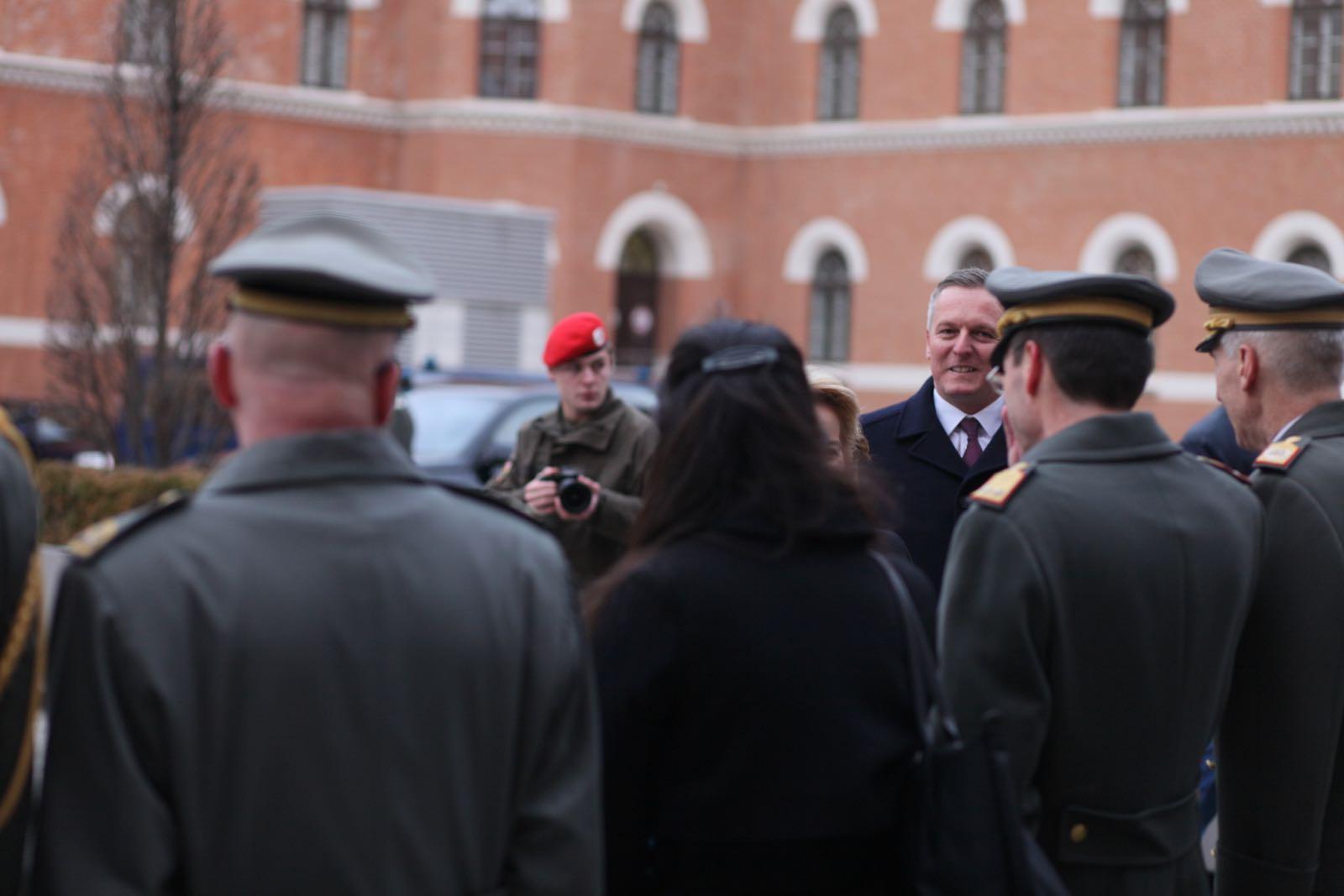 2019_01_18_1Gardekompanie_Treffen_Verteidigungsminister_DE_CHE_AUT_Rosau - 24 of 39