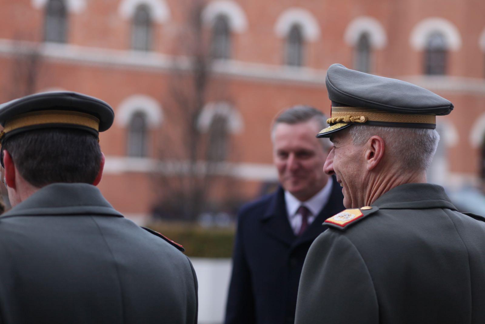 2019_01_18_1Gardekompanie_Treffen_Verteidigungsminister_DE_CHE_AUT_Rosau - 25 of 39