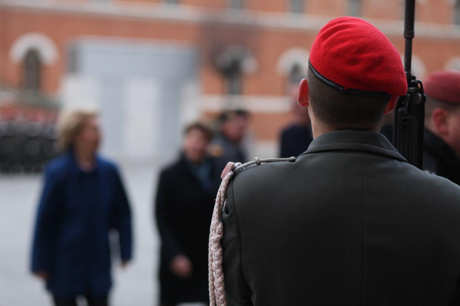 2019_01_18_1Gardekompanie_Treffen_Verteidigungsminister_DE_CHE_AUT_Rosau - 32 of 39