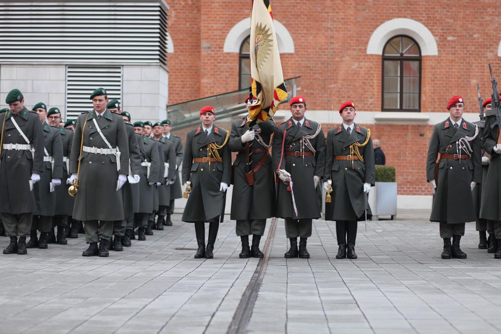 2019_01_18_1Gardekompanie_Treffen_Verteidigungsminister_DE_CHE_AUT_Rosau - 35 of 39