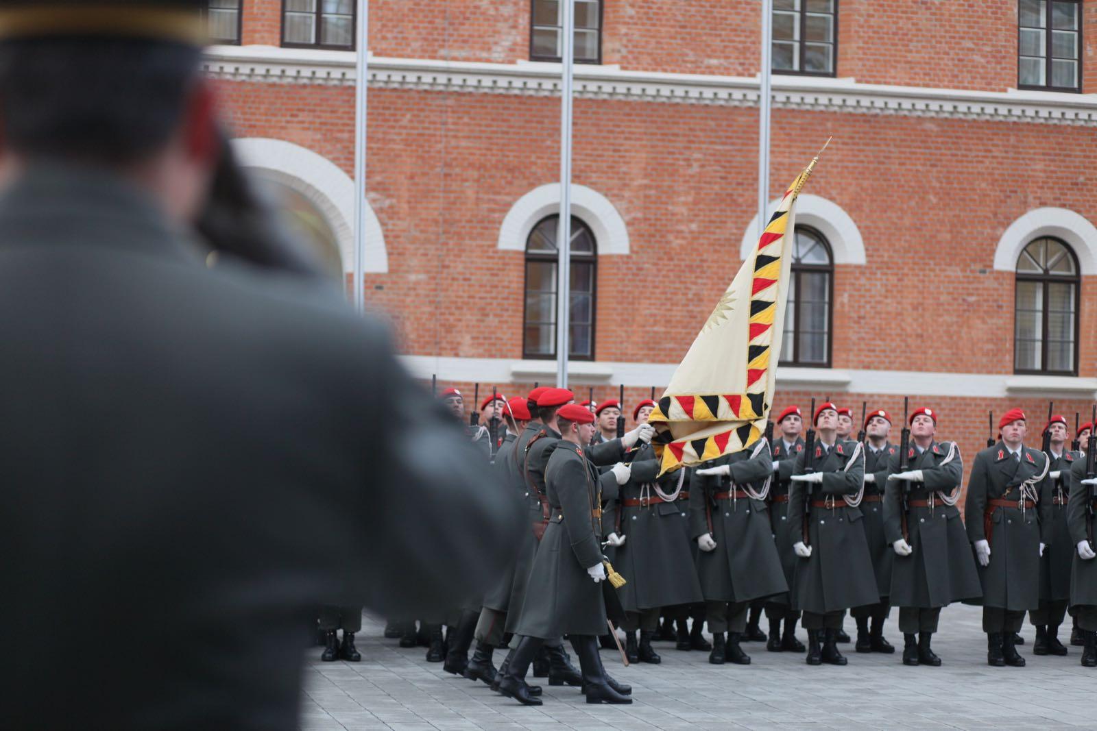 2019_01_18_1Gardekompanie_Treffen_Verteidigungsminister_DE_CHE_AUT_Rosau - 38 of 39