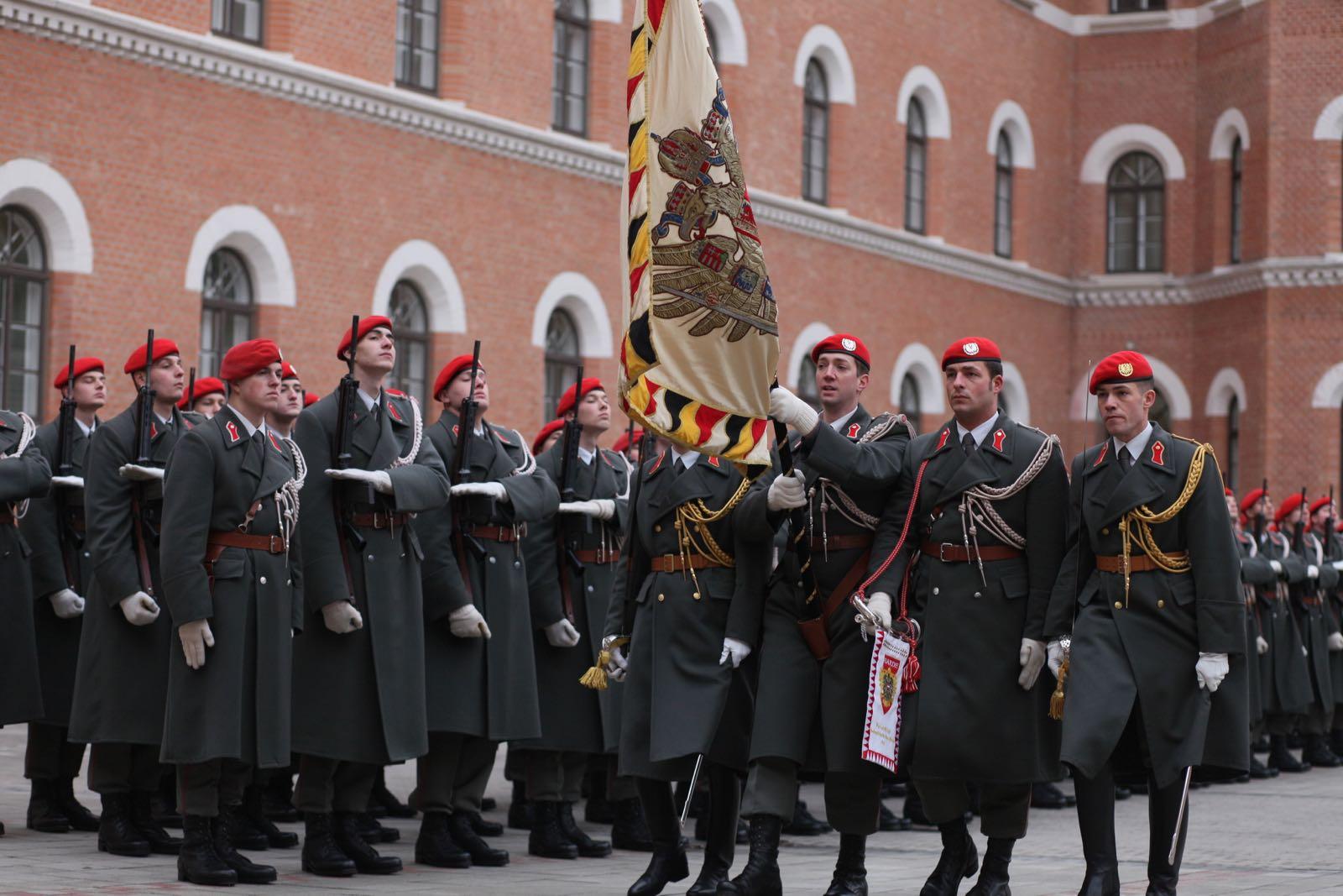 2019_01_18_1Gardekompanie_Treffen_Verteidigungsminister_DE_CHE_AUT_Rosau - 6 of 39