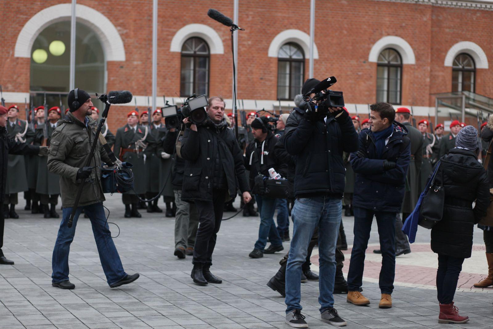 2019_01_18_1Gardekompanie_Treffen_Verteidigungsminister_DE_CHE_AUT_Rosau - 8 of 39
