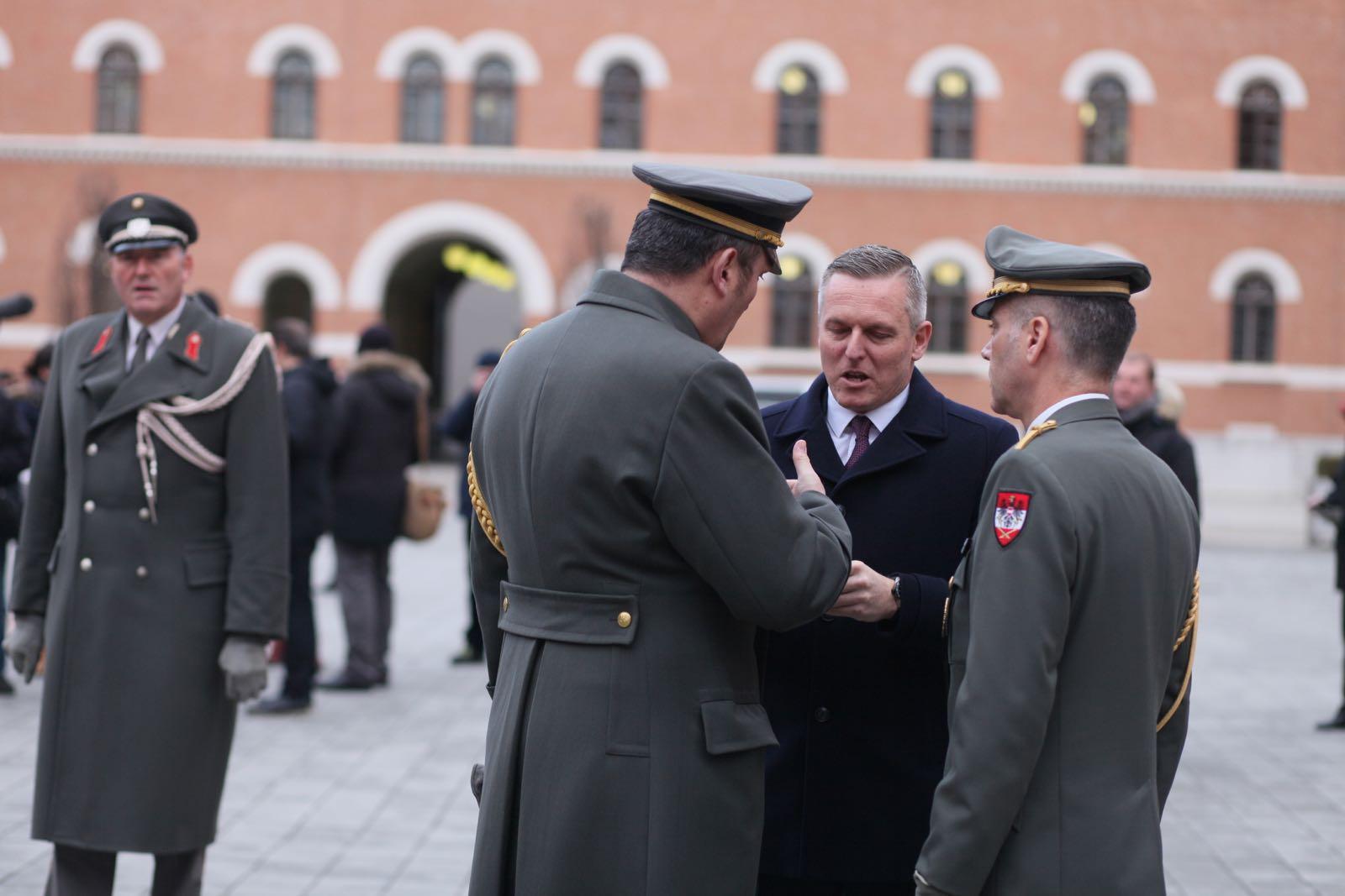 2019_01_18_1Gardekompanie_Treffen_Verteidigungsminister_DE_CHE_AUT_Rosau - 9 of 39