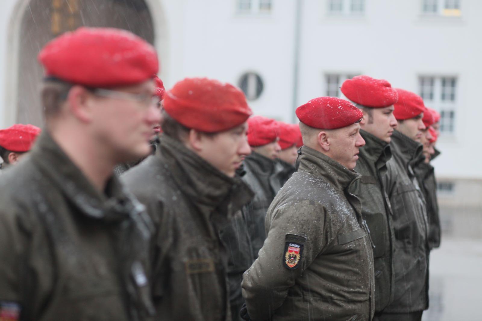 2019_01_18_5Gardekompanie_EVB_EUFOR_Verabschiedung_Einsatz - 5 of 24