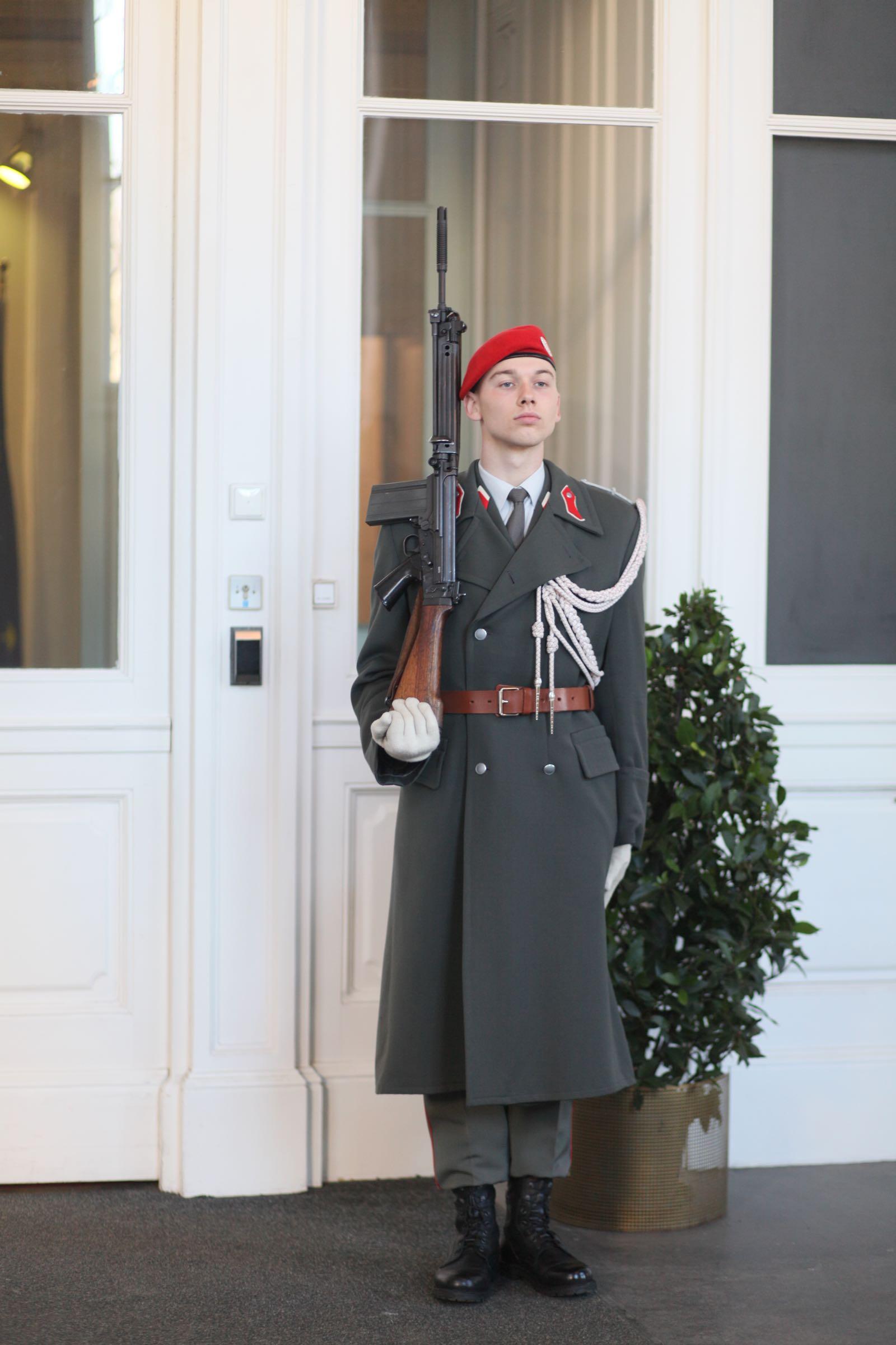2019_02_05_Garde_Treppenspalier_Hofburg - 3 of 9