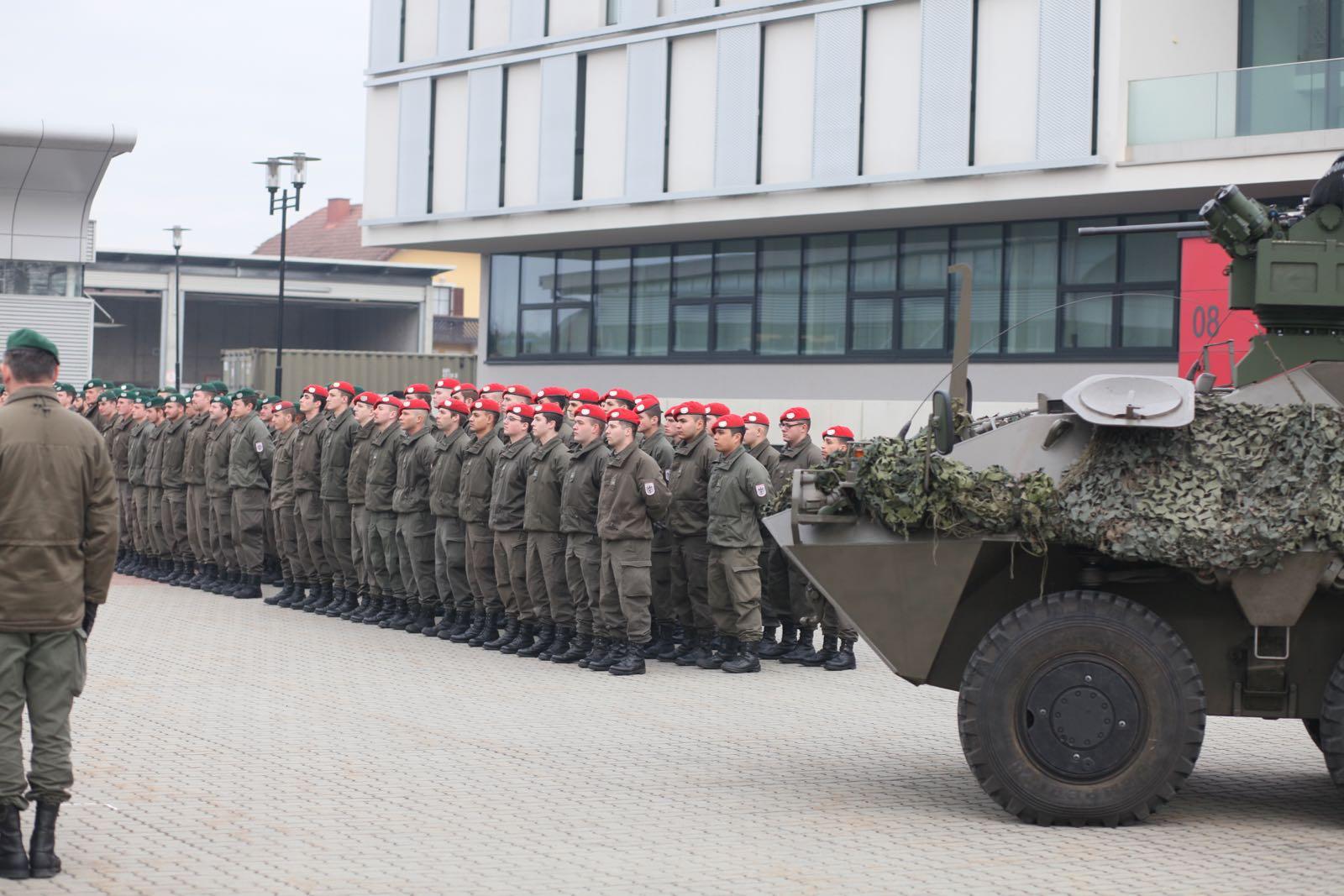 2019_02_08_5Gardekompanie_KPE_EUFOR30_Verabschiedung - 1 of 61