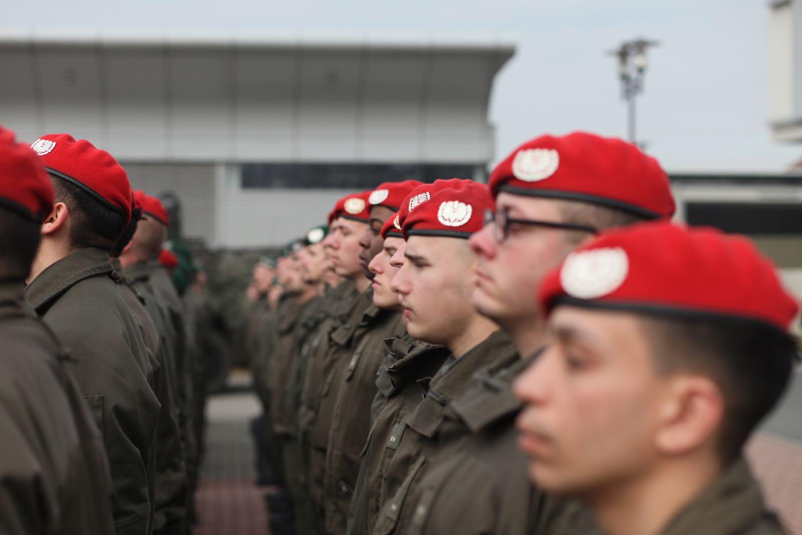 2019_02_08_5Gardekompanie_KPE_EUFOR30_Verabschiedung - 19 of 61