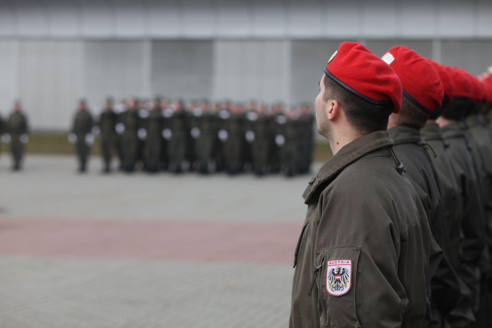 2019_02_08_5Gardekompanie_KPE_EUFOR30_Verabschiedung - 22 of 61