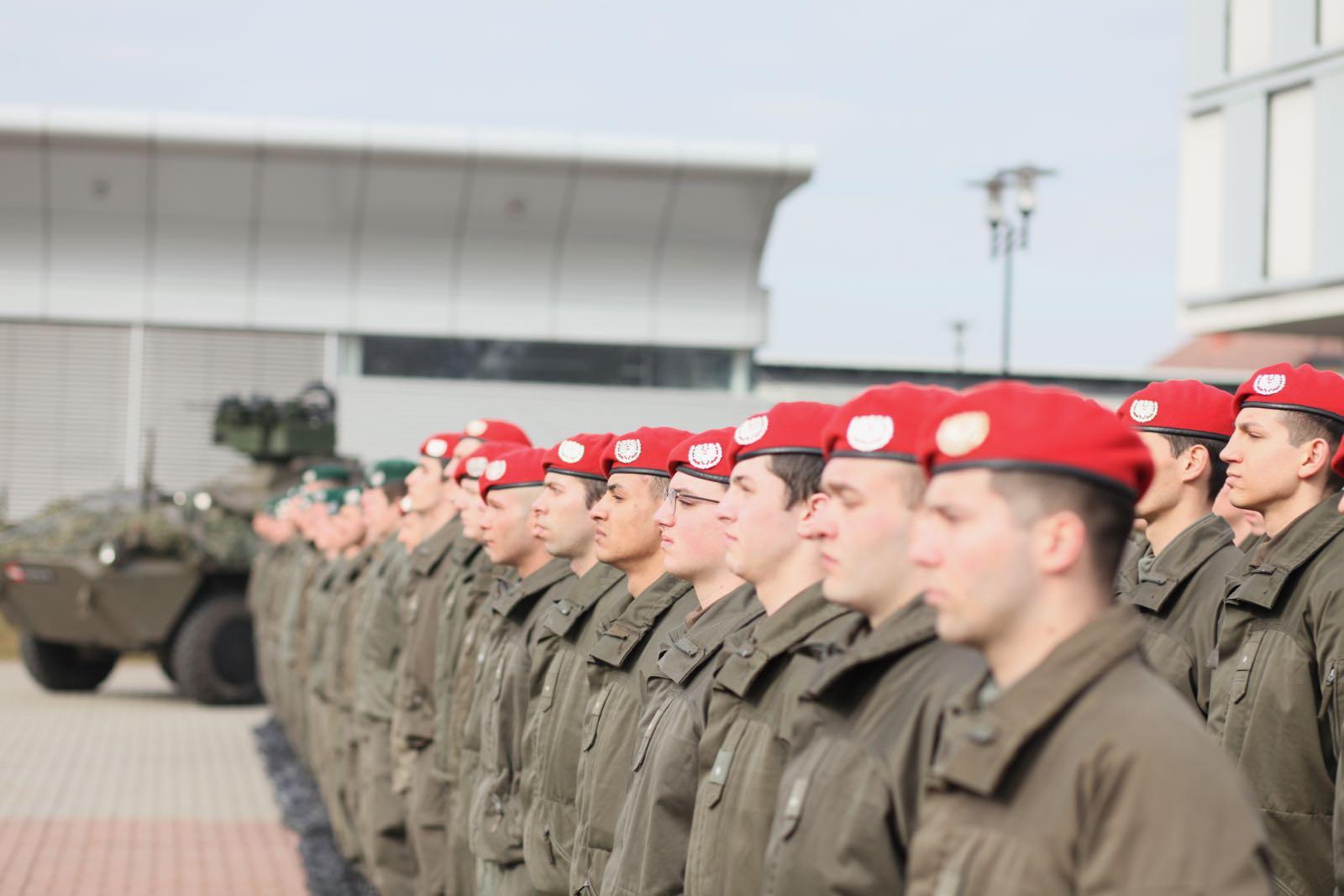 2019_02_08_5Gardekompanie_KPE_EUFOR30_Verabschiedung - 29 of 61