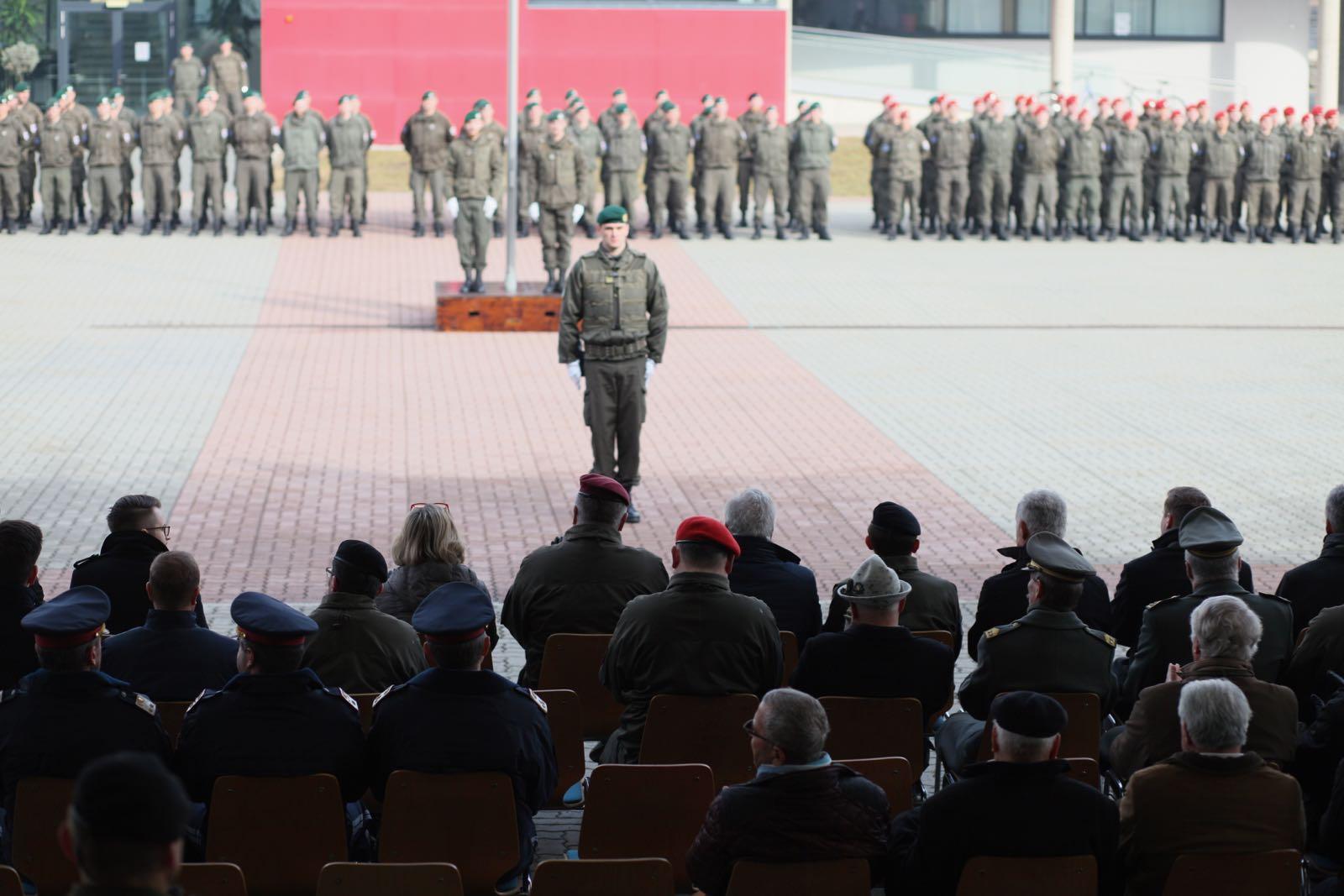 2019_02_08_5Gardekompanie_KPE_EUFOR30_Verabschiedung - 33 of 61