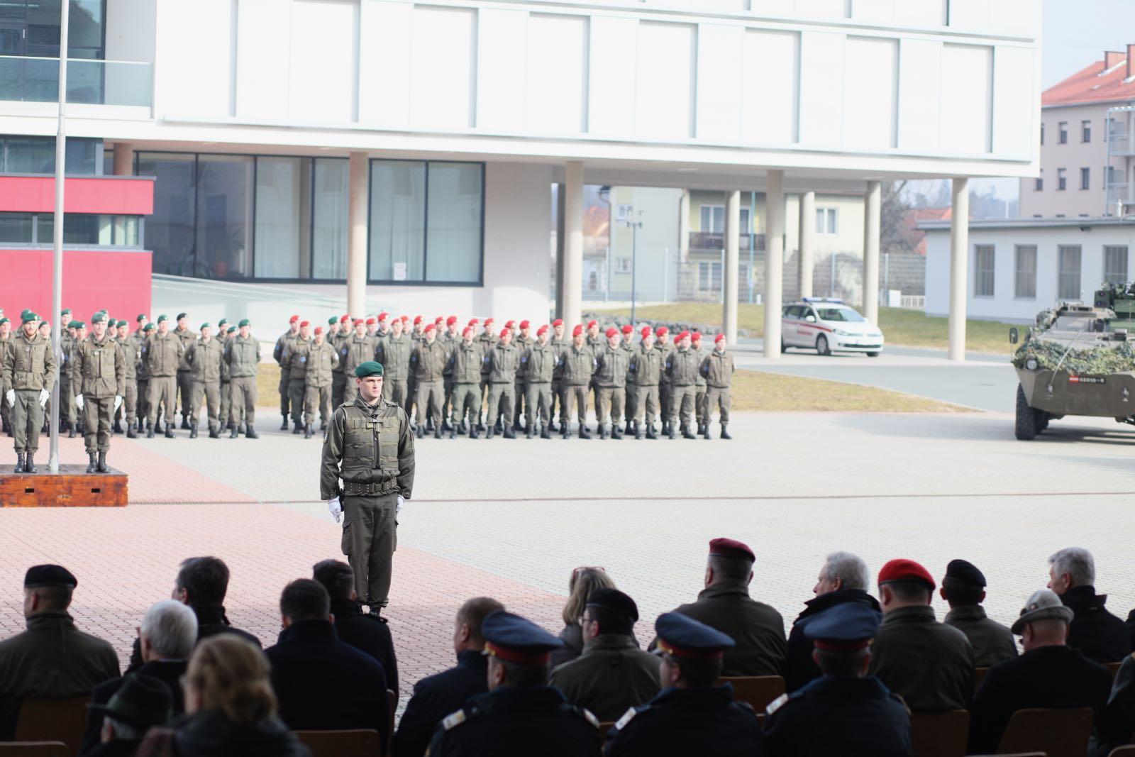 2019_02_08_5Gardekompanie_KPE_EUFOR30_Verabschiedung - 35 of 61