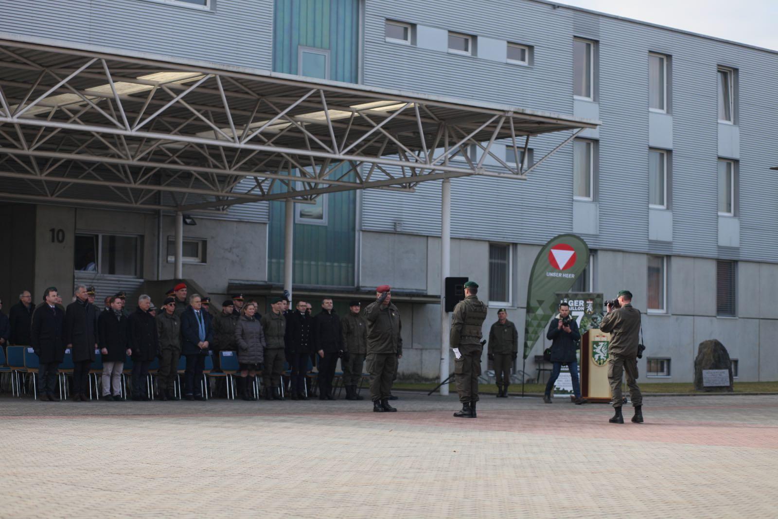 2019_02_08_5Gardekompanie_KPE_EUFOR30_Verabschiedung - 46 of 61