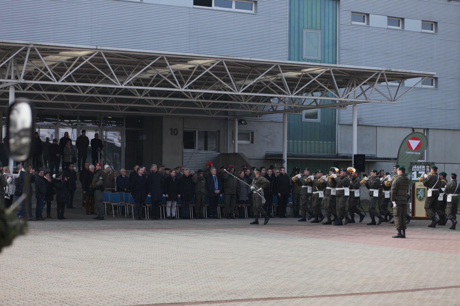 2019_02_08_5Gardekompanie_KPE_EUFOR30_Verabschiedung - 47 of 61