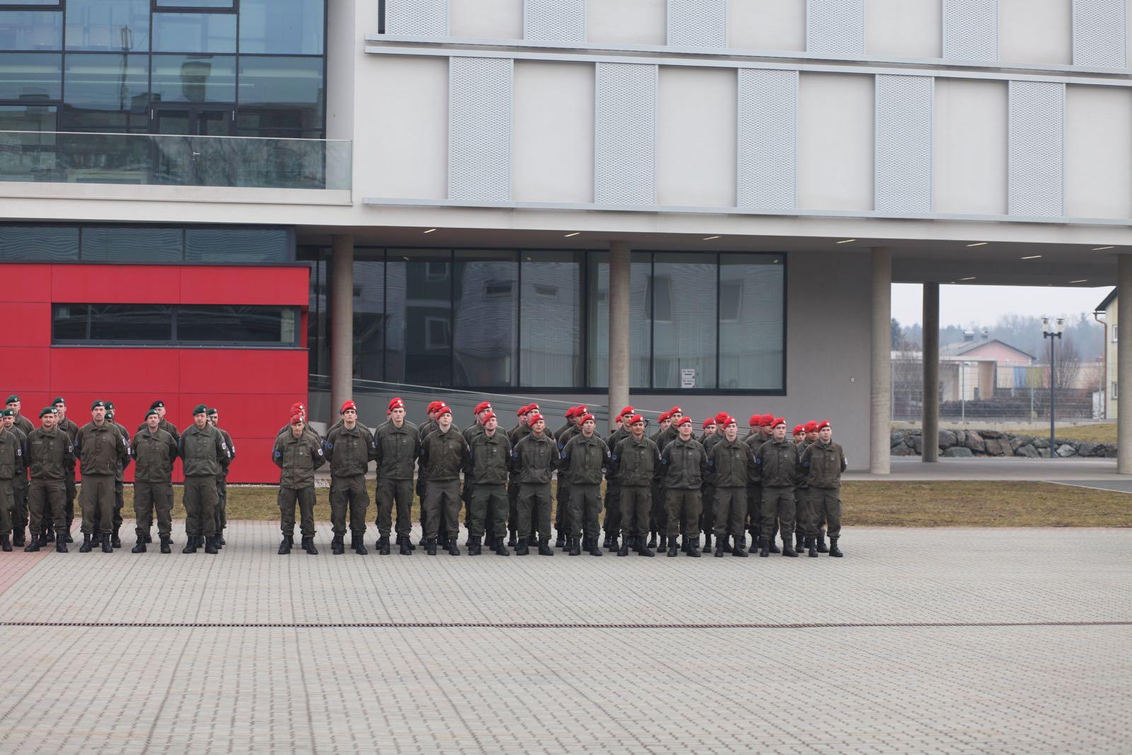 2019_02_08_5Gardekompanie_KPE_EUFOR30_Verabschiedung - 5 of 61