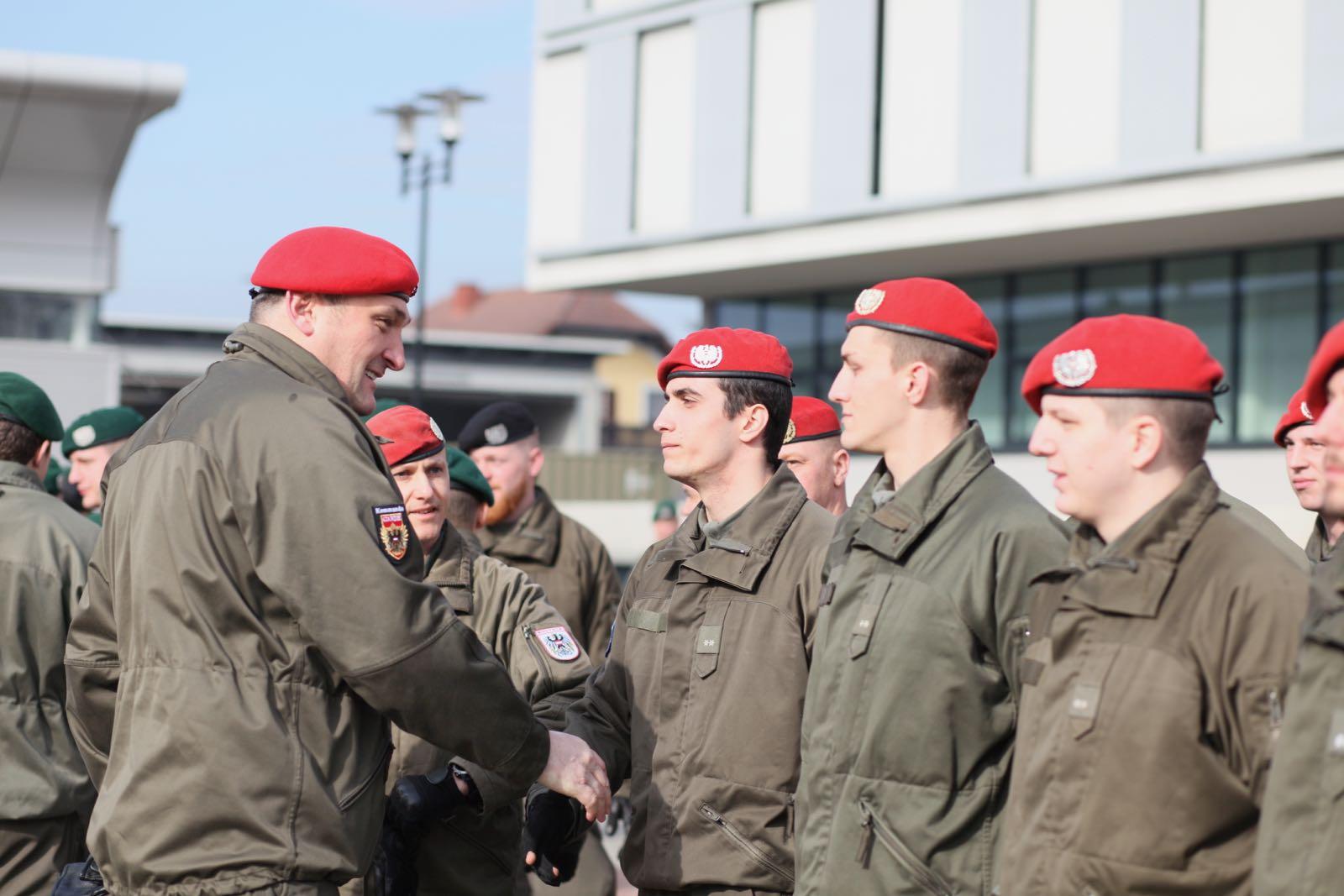 2019_02_08_5Gardekompanie_KPE_EUFOR30_Verabschiedung - 50 of 61