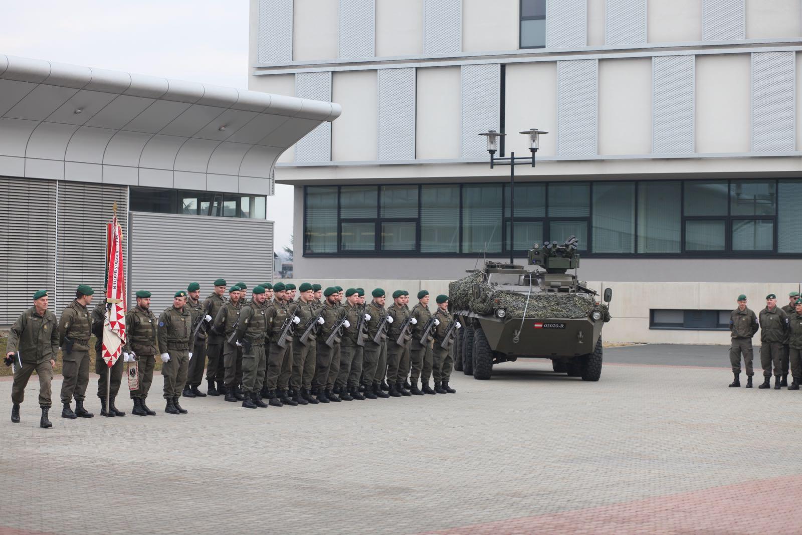 2019_02_08_5Gardekompanie_KPE_EUFOR30_Verabschiedung - 6 of 61