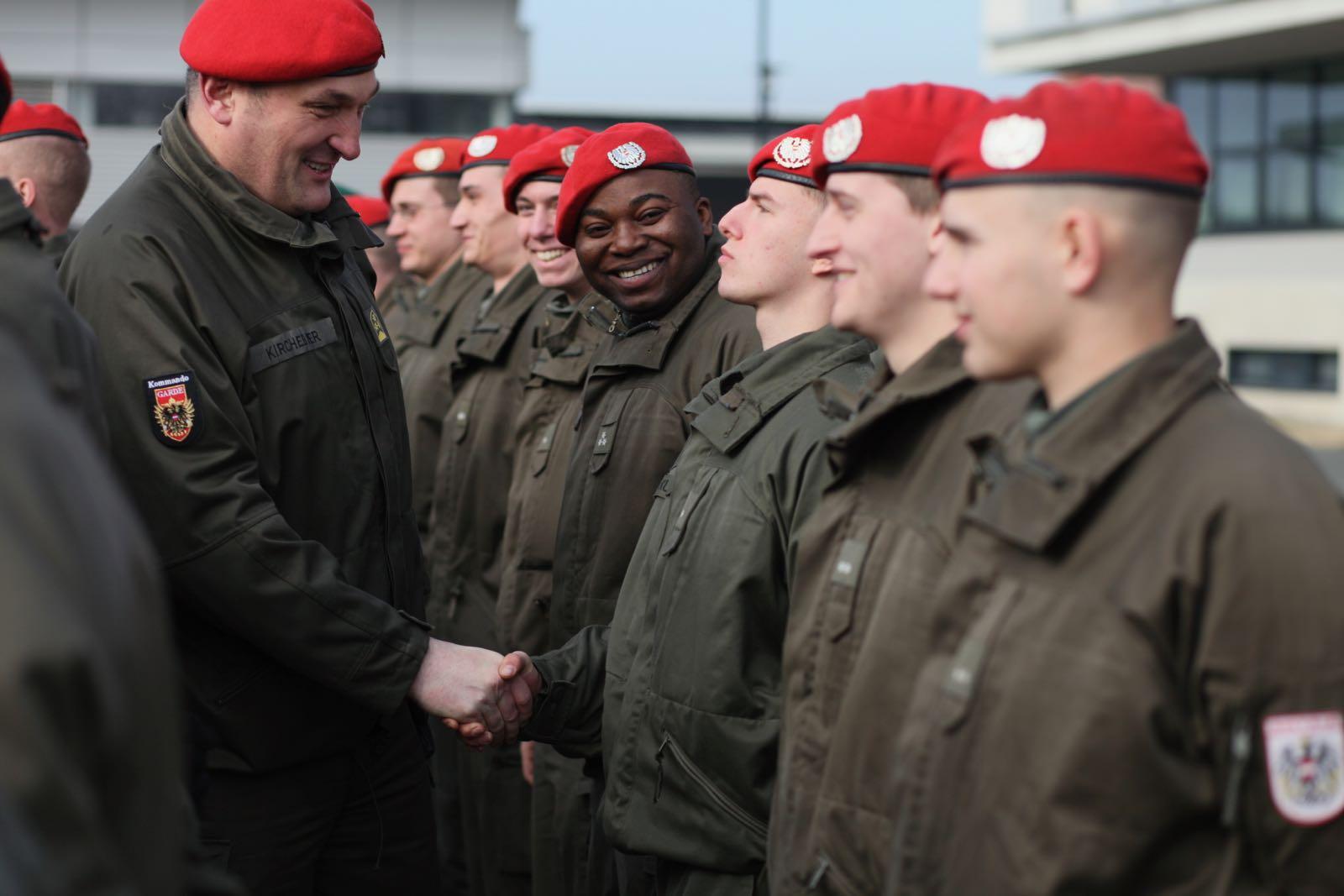 2019_02_08_5Gardekompanie_KPE_EUFOR30_Verabschiedung - 60 of 61