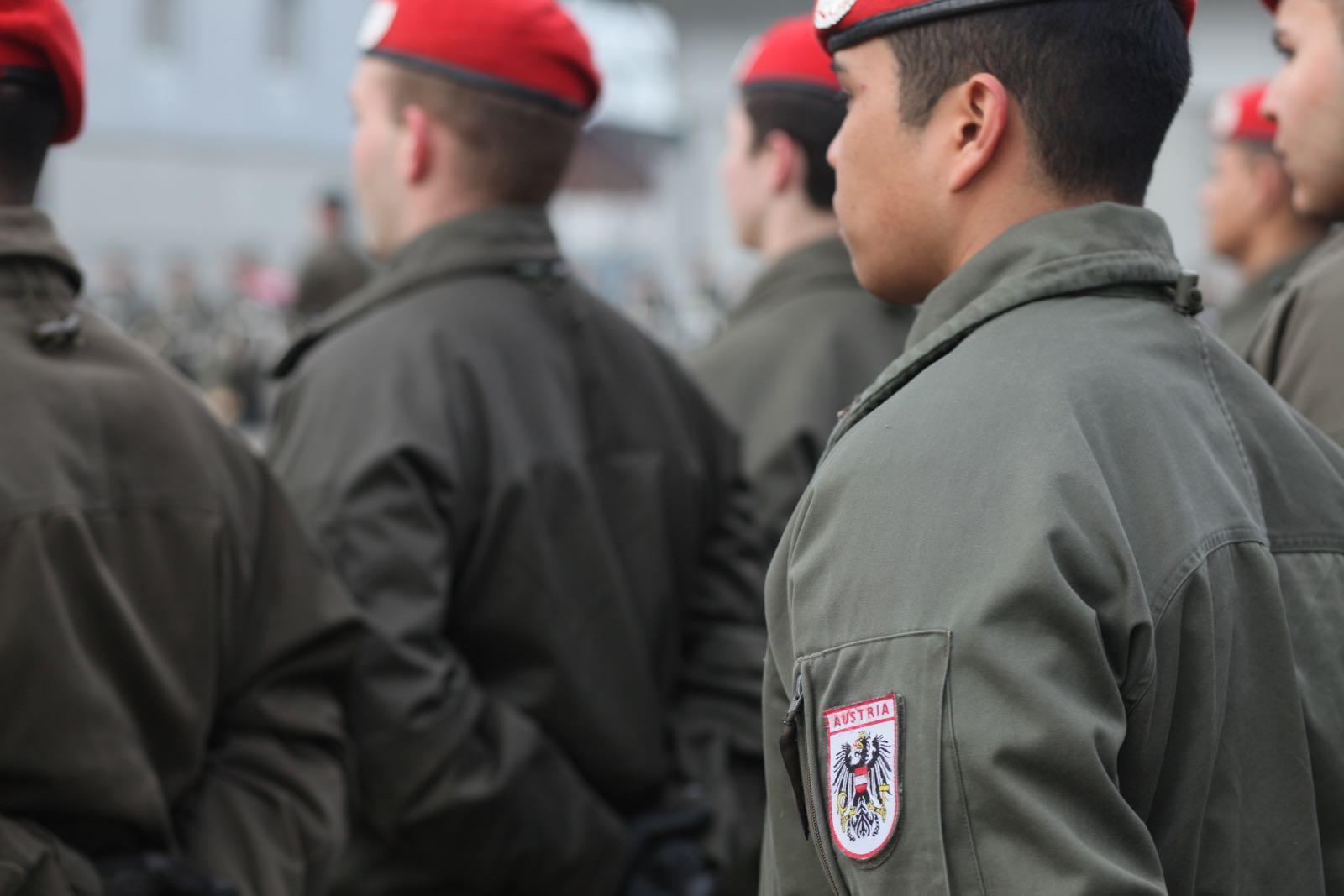 2019_02_08_5Gardekompanie_KPE_EUFOR30_Verabschiedung - 9 of 61