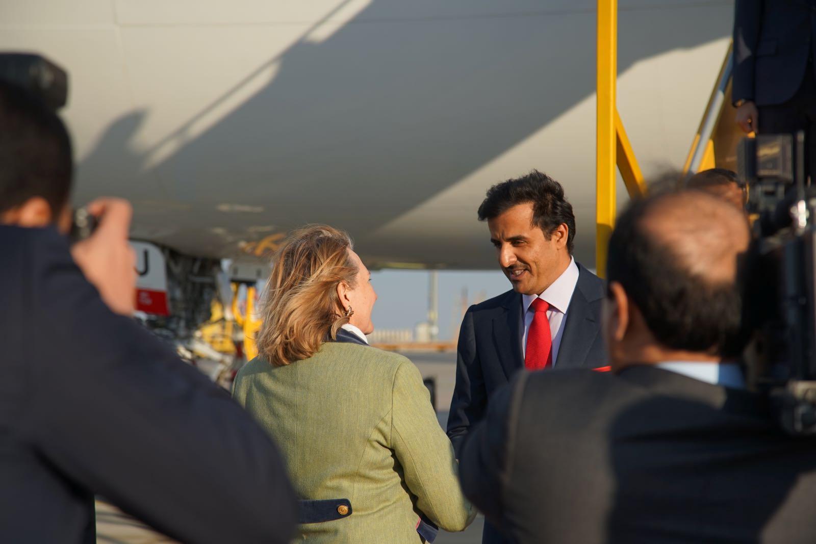 2019_03_04_4Gardekompanie_Flughafenspalier_Katar_Kneissl - 10 of 17