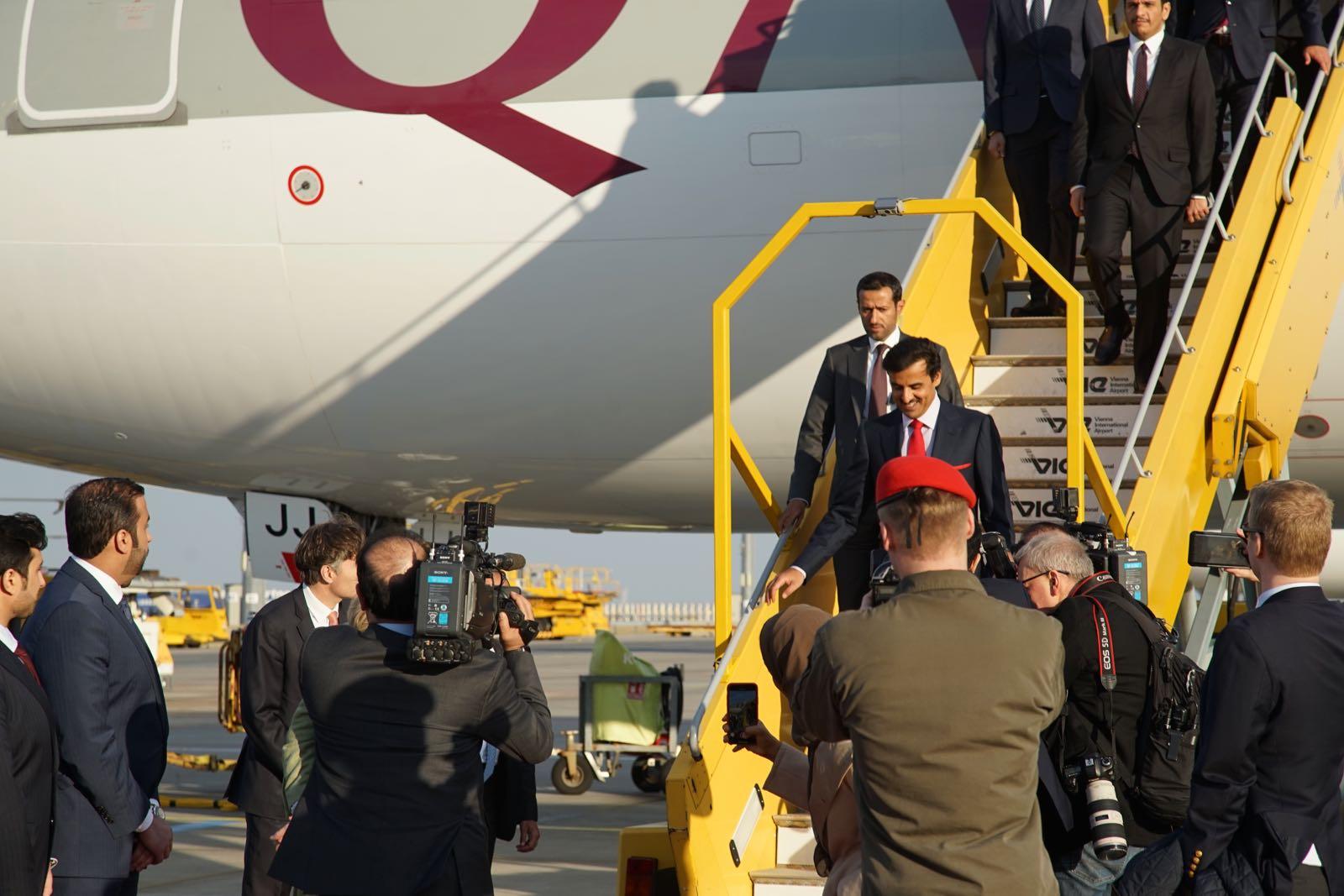 2019_03_04_4Gardekompanie_Flughafenspalier_Katar_Kneissl - 7 of 17