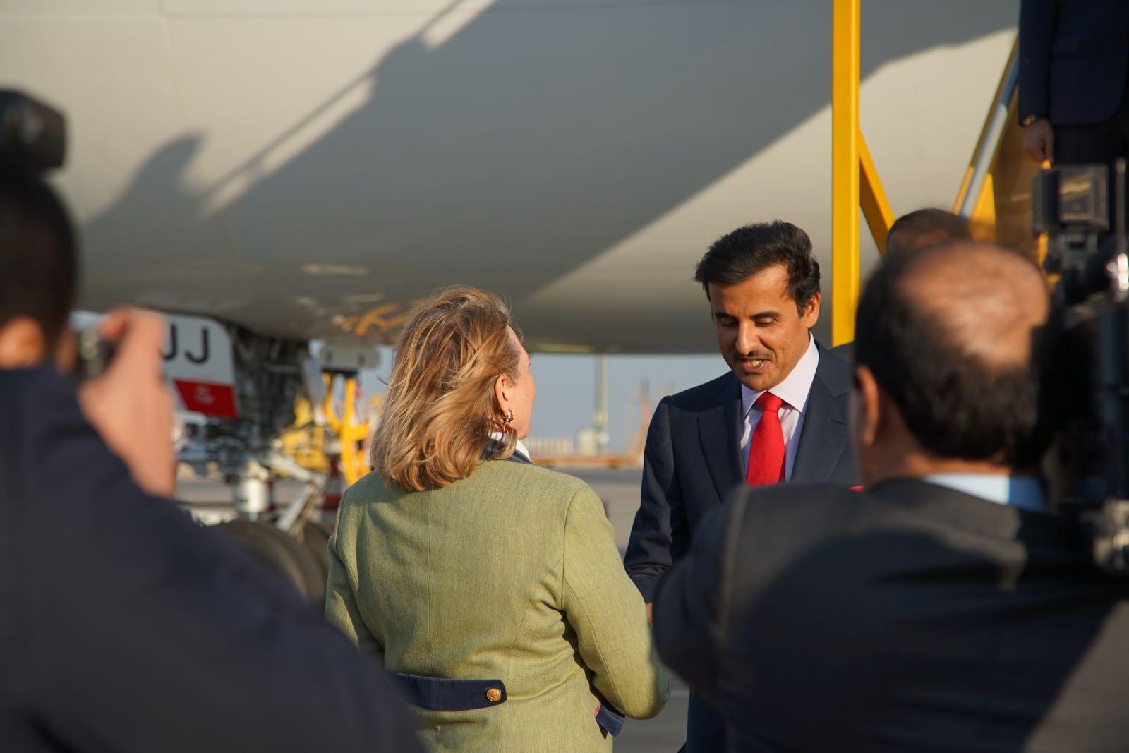 2019_03_04_4Gardekompanie_Flughafenspalier_Katar_Kneissl - 8 of 17