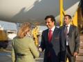2019_03_04_4Gardekompanie_Flughafenspalier_Katar_Kneissl - 11 of 17