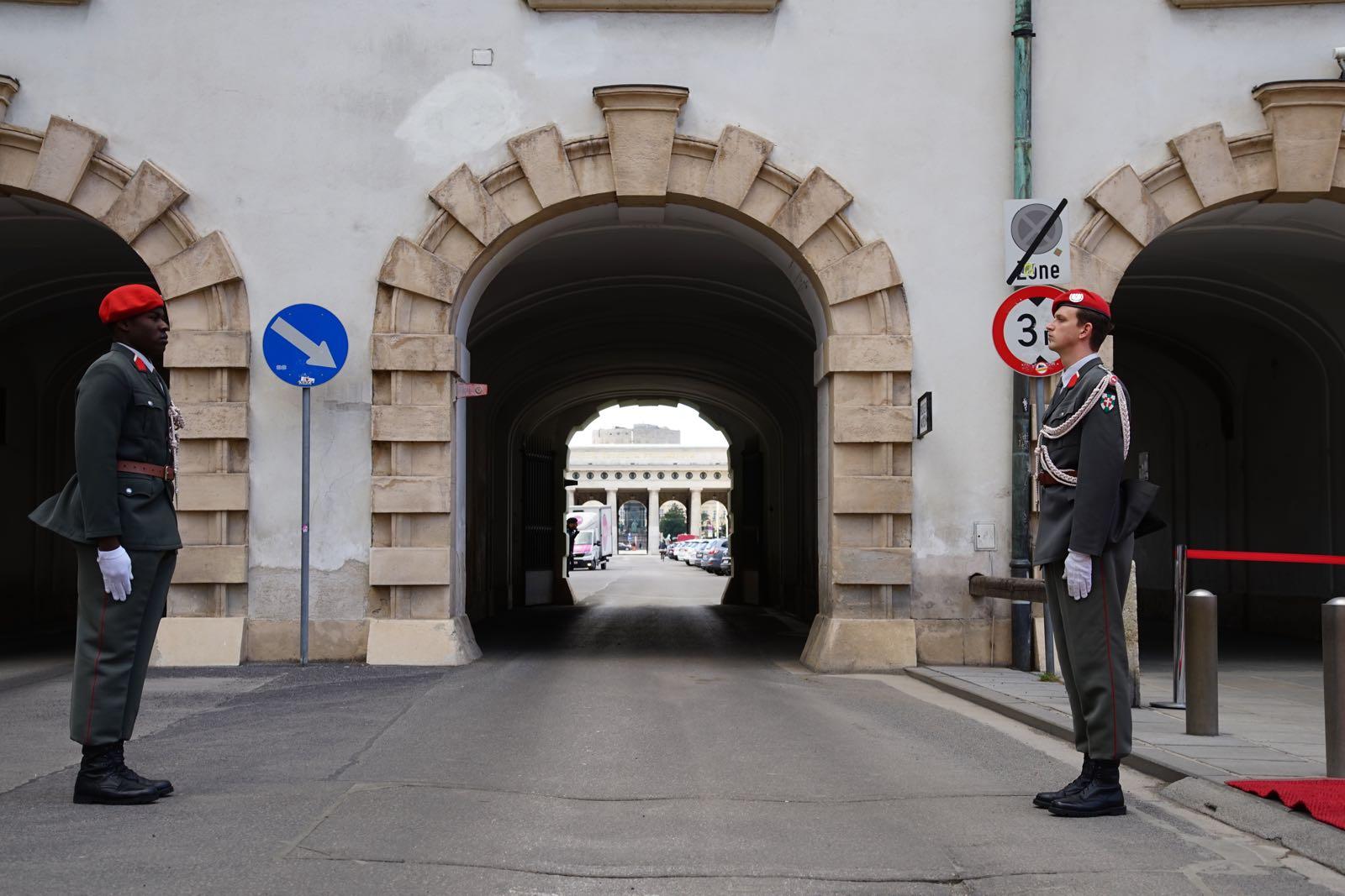2019_03_05_4Gardekompanie_Empfang_KATAR_HBP_Hofburg - 2 of 21