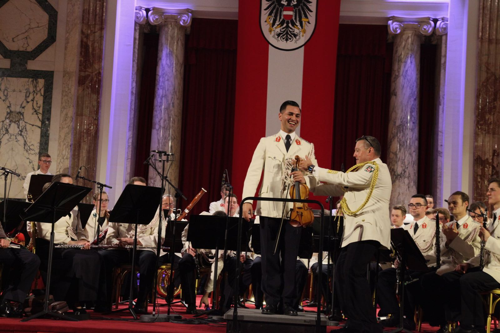 2019_03_14Gardemusik_Frühjahrskonzert_HBP_Hofburg - 99 of 177