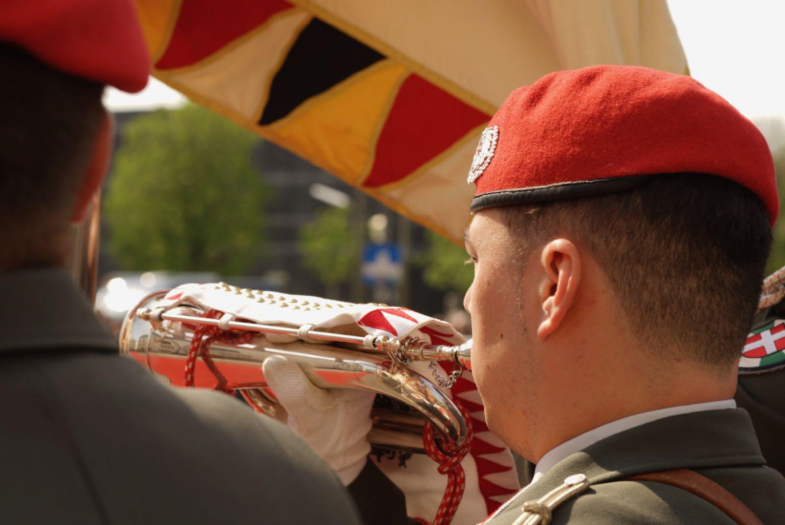 2019_04_09_4Gardekompanie_Montenegro_Ballhausplatz - 22 of 34