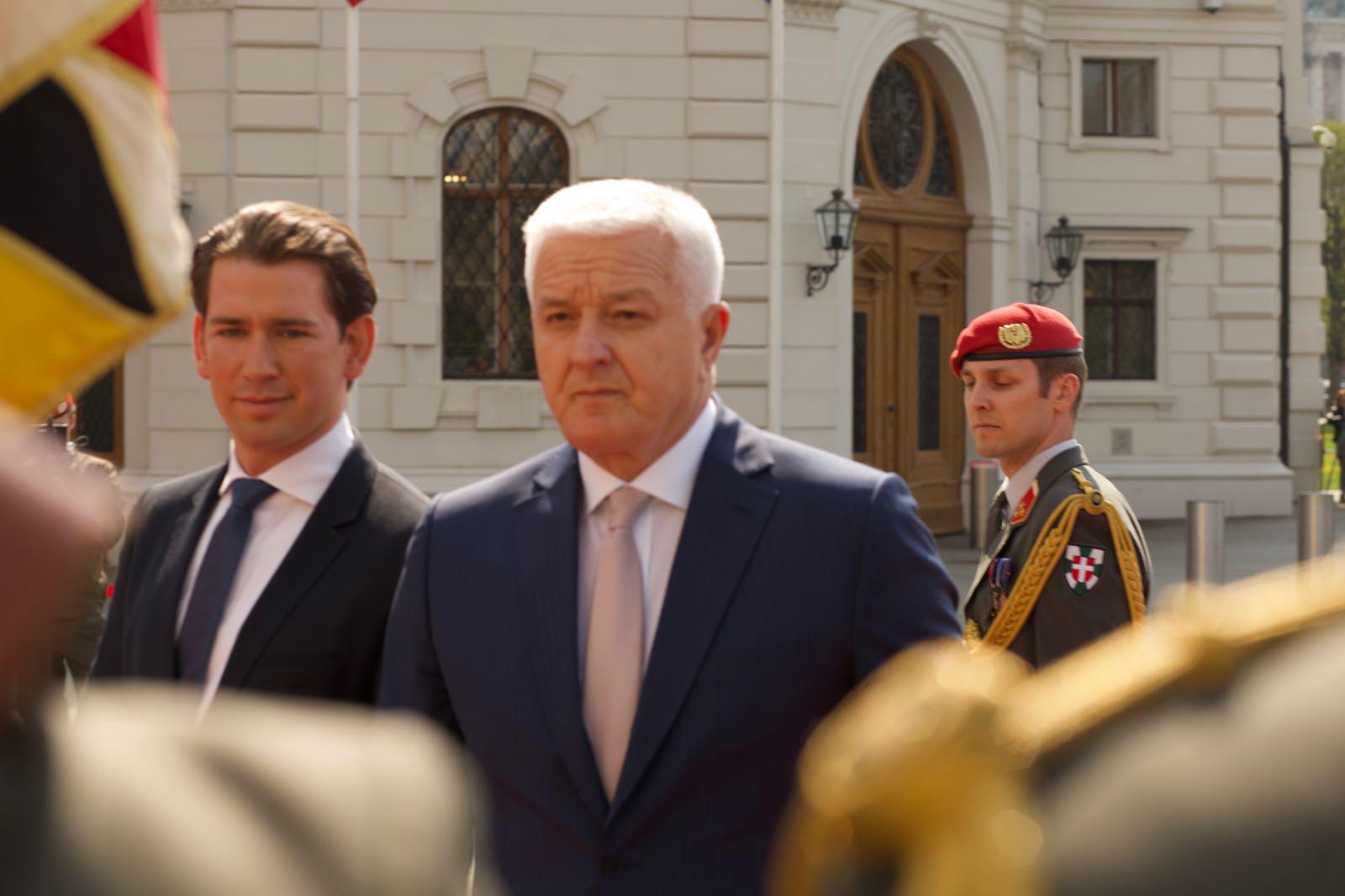 2019_04_09_4Gardekompanie_Montenegro_Ballhausplatz - 25 of 34
