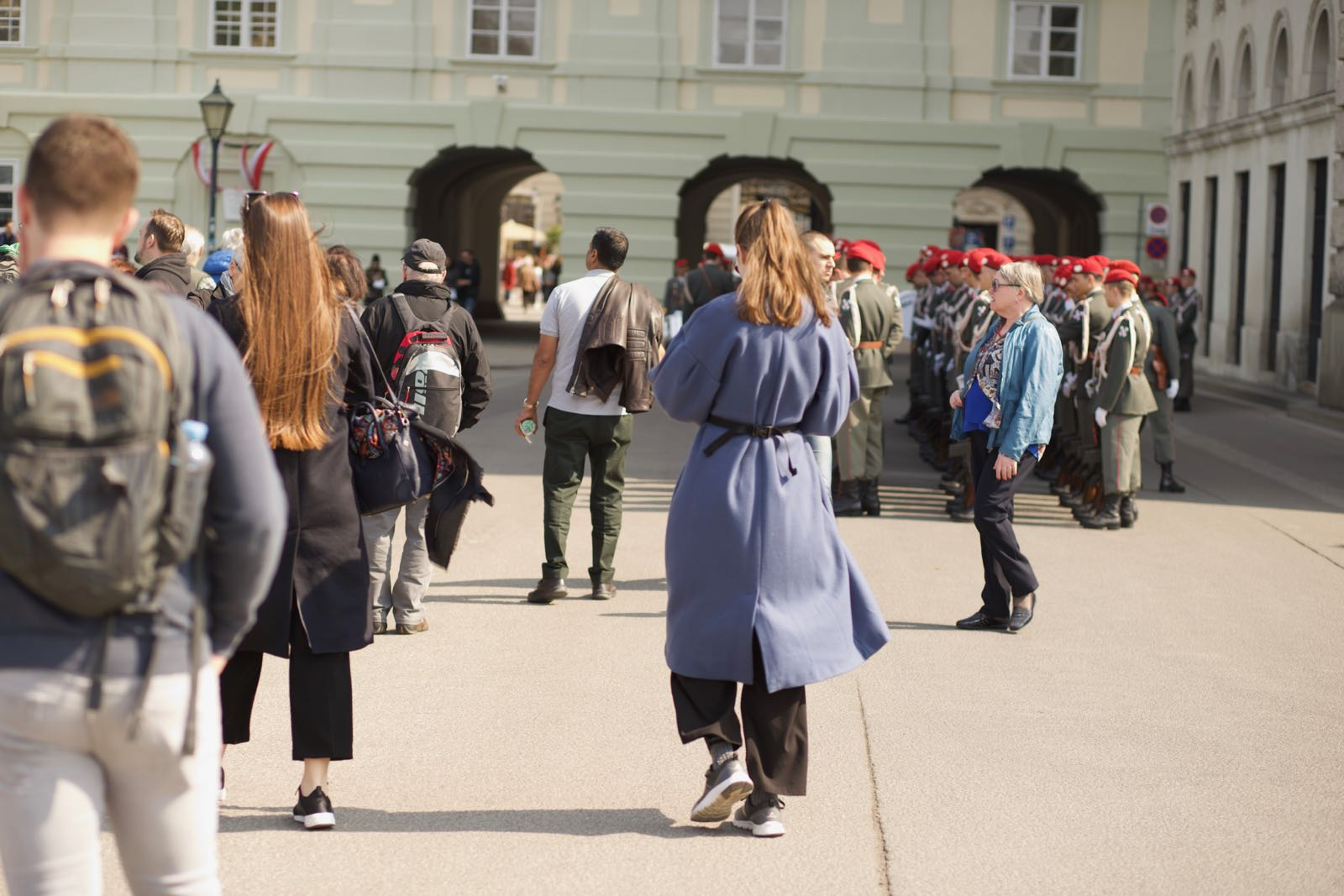2019_04_09_4Gardekompanie_Montenegro_Ballhausplatz - 5 of 34