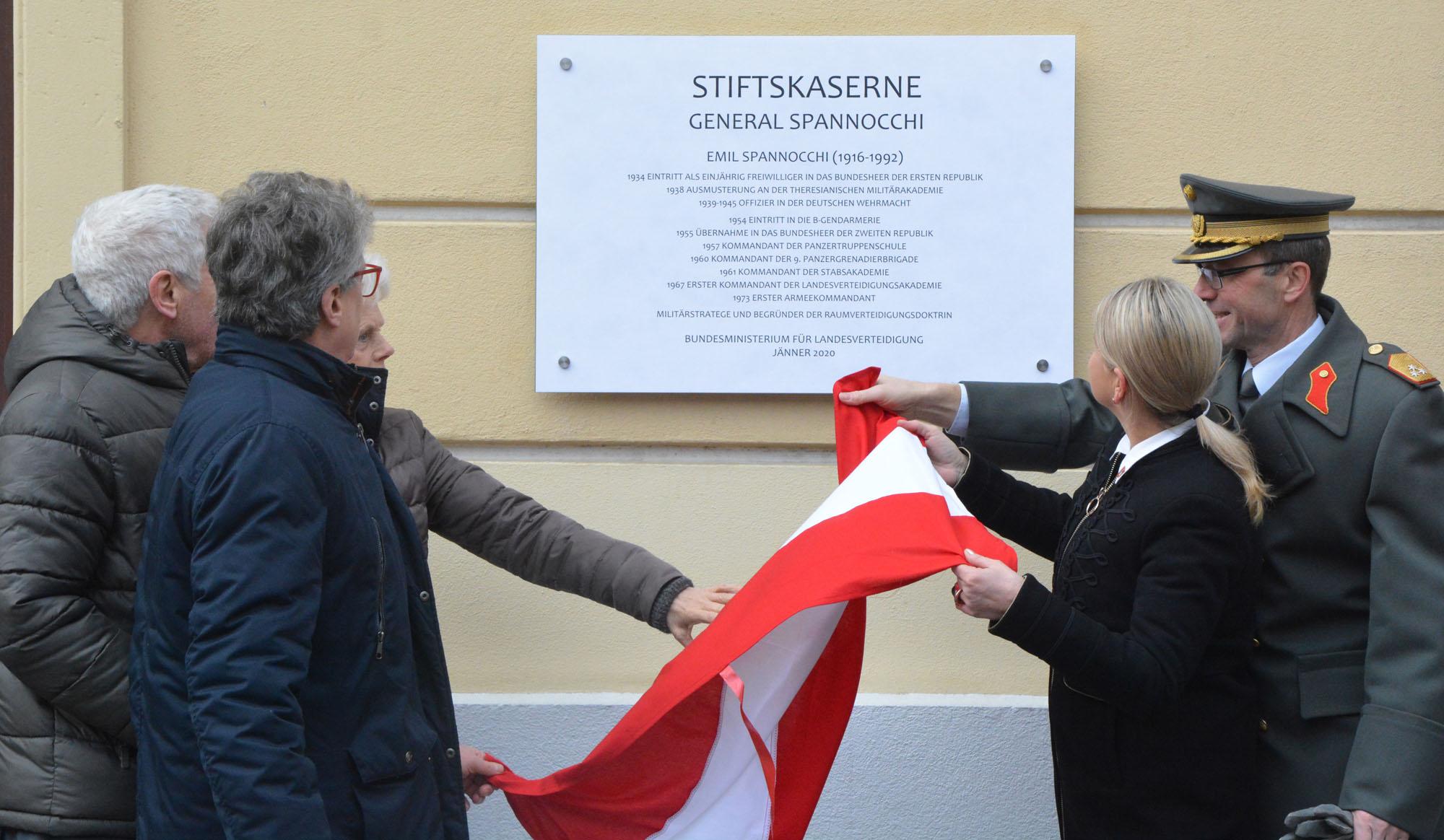2020_01_27_Garde_3GdKp_Umbenennung-Stiftskaserne-in-General-Spannocchi_DSC_3635