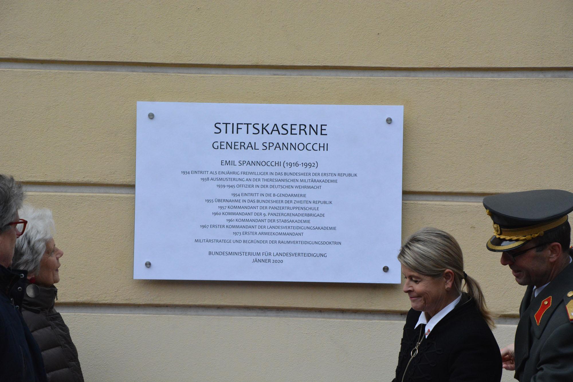 2020_01_27_Garde_3GdKp_Umbenennung-Stiftskaserne-in-General-Spannocchi_DSC_3636